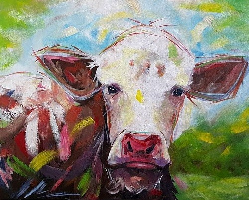 Dairy Cow in Daylight