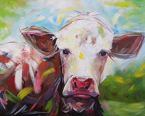 Dairy Cow in Day