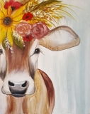 Free-Spirited Cow