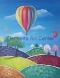 Colorful Balloon Ride