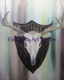 Eauropean Deer Mount