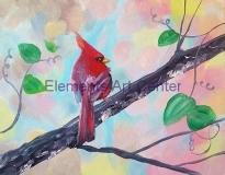 Sunny Wintery Cardinal