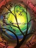 swirly silhouette