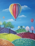Colorful Balloon Ride