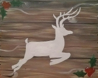 Rustic Christmas Deer (1)