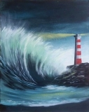Stormy Seas Lighthouse