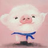 Posing Piglet