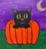 Happy Hallows Kitty