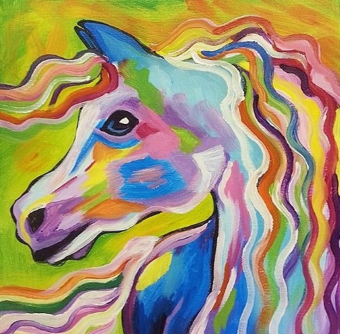 Painted Horses (Small)