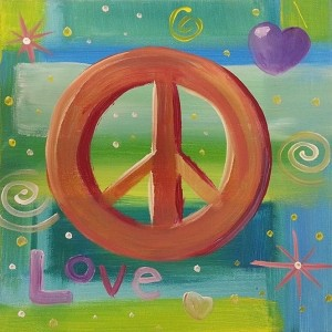 """""""Peace and Love"""" kids"""