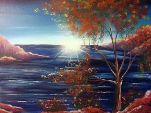 Lakeside Sunshine