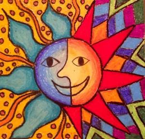 Aztec Sun (Small)