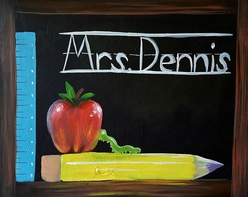 Cute Classroom Chalkboard